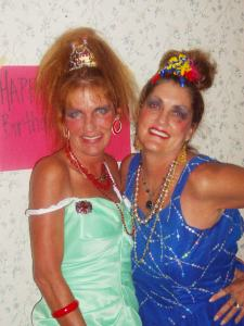 Ahh - the memories that make us smile! (Amy is on the left and Mary Beth on the right)