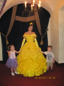 Two Princesses and a Prince - the real reason for the trip!